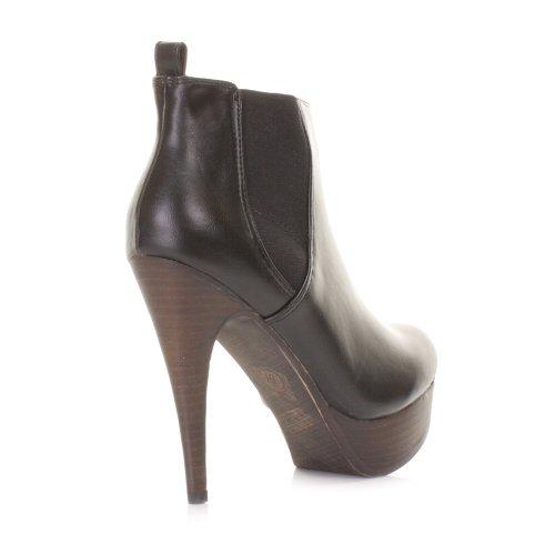 womens high heel stiletto platform ankle boots size 5