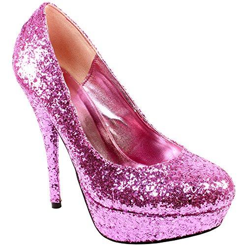 womens silver glitter high heel shoes top fashion shop