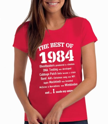 Made In 1984 30th Birthday T-Shirt 100/% Soft Cotton